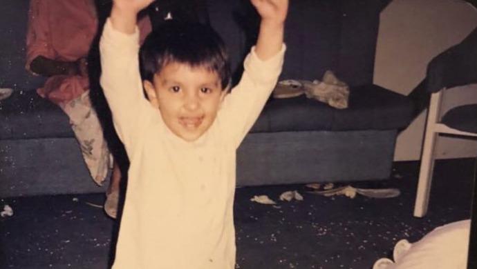 Ranveer Singh childhood photo