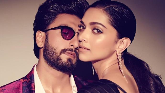 Ranveer Singh with wife Deepika Padukone