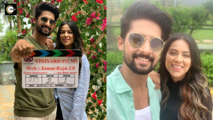 Ravi Dubey and Nia Sharma shoot for Jamai Raja 2.0