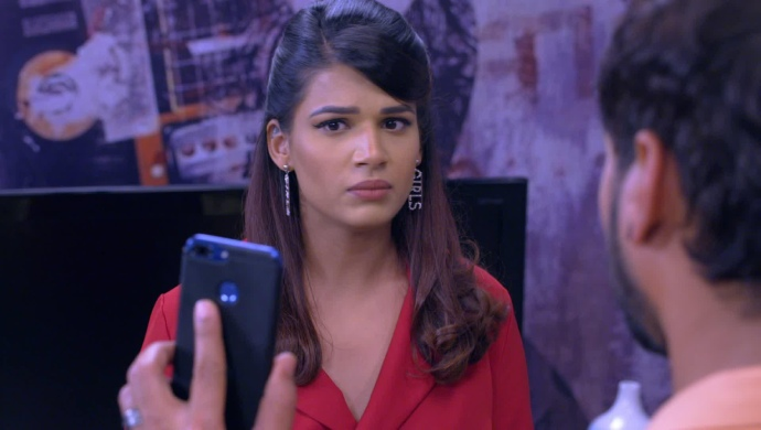 Still from Kumkum Bhagya mahaepisode with Rhea