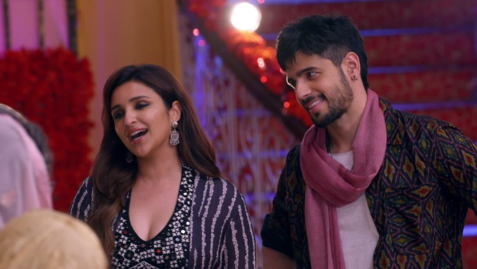 Still from Kundali Bhagya with Parineeti Chopra and Siddharth Malhotra