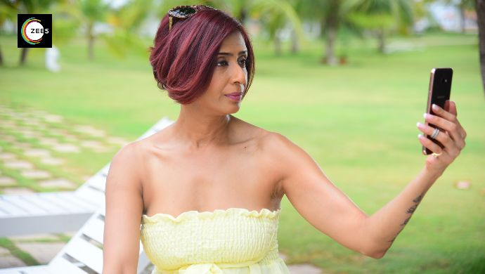 Actress Achint Kaur in a still from Jamai Raja 2.0 show