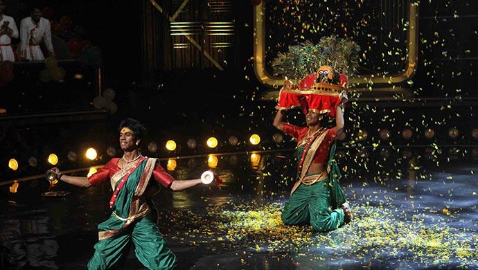 Akash and Suraj on Dance India Dance 7
