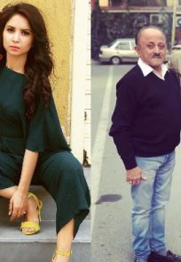 Dheeraj Dhoopar with Vinny Arora and parents