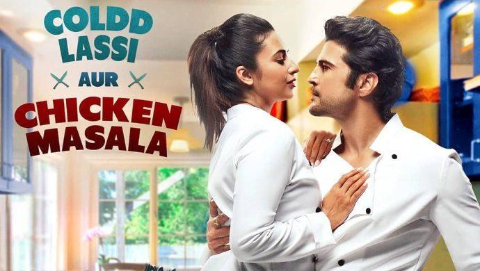 Divyanka, Rajeev on Coldd Lassi aur Chicken Masala poster