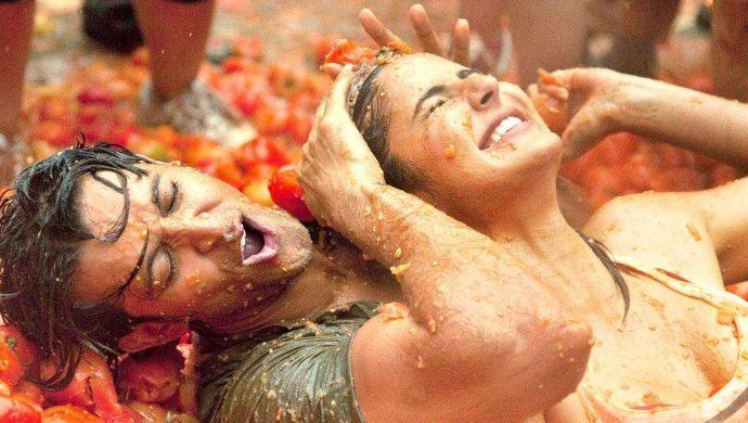 Hrithik Roshan and Katrina Kaif in ZNMD
