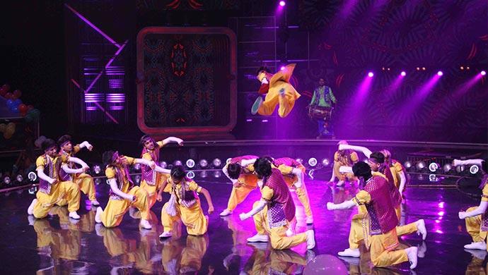 N House Crew on Dance India Dance 7