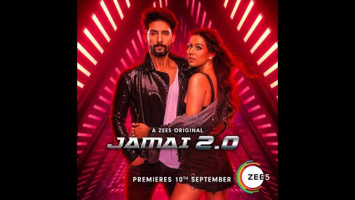 Ravi Dubey, Nia Sharma in Jamai 2.0 poster