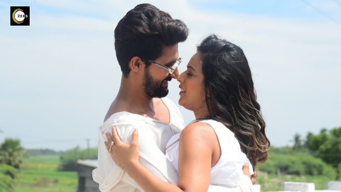 Ravi Dubey, Nia Sharma in a still from Jamai Raja 2.0 Pondicherry shoot