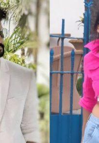 Ravi Dubey and Nia Sharma on Jamai Raja 2.0 sets