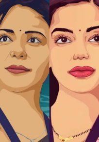 Sakshi Tanwar, Mona Singh, Nidhi Singh and Palomi Ghosh in M-O-M