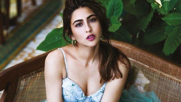 Sara Ali Khan in a photoshoot for Bazaar