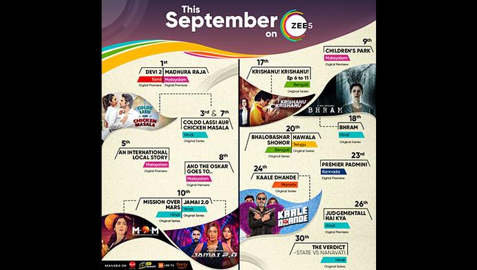 September Releases on ZEE5