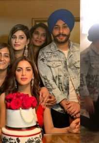 Shraddha Arya's birthday bash with Kundali Bhagya stars and BF Alam Makkar
