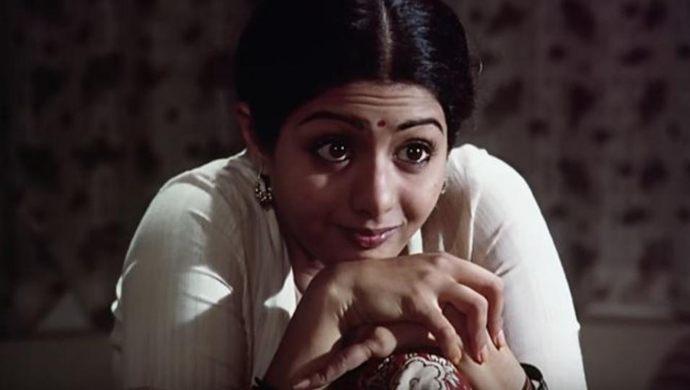 Sridevi in a still from Sadma