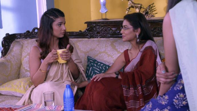 Still from Kumkum Bhagya with Rhea