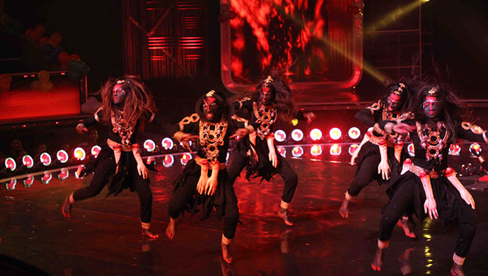 The Soul Queens on Dance India Dance 7