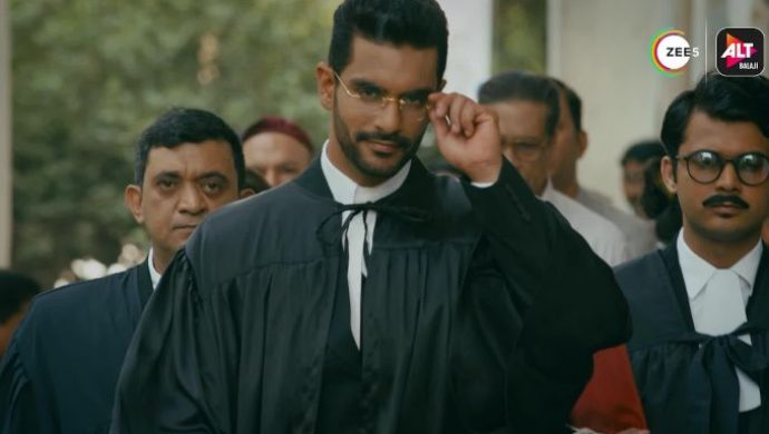 Angad Bedi plays a lawyer in The Verdict- State vs Nanavati