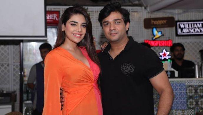 Anjum Fakih and Kettan Singh
