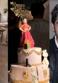 Anjum Fakih birthday celebrations