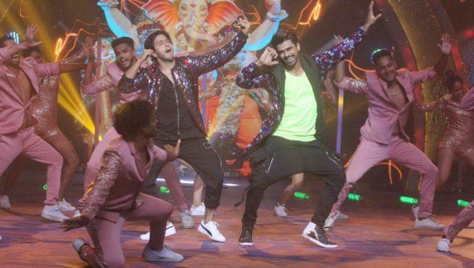 Ankitt Mohan and Param Singh in Kumkum Bhagya Ganpati special episode