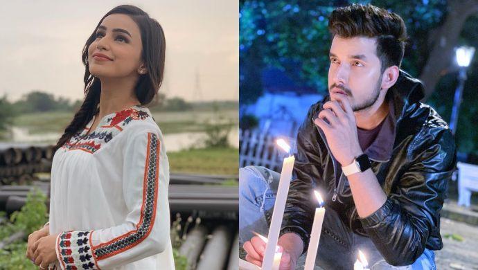 Ankitta Sharma and Paras Kalnawat in Ishq Aaj Kal Season 4