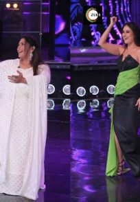 Geeta Kapur and Kareena Kapoor Khan dance to K3G song