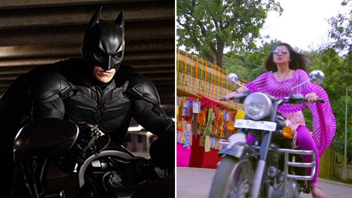 Guddan's Bullet vs Batman's Batmobile