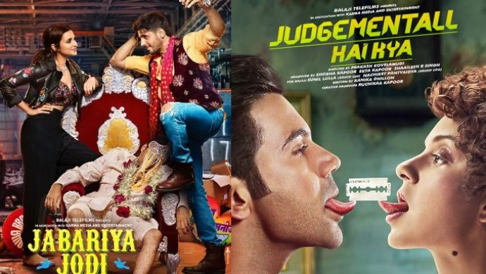 Judgemantall Hai Kya and Jabariya Jodi