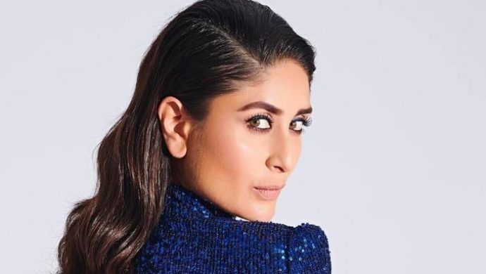 Kareena Kapoor Khan in a blue gown on DID 7
