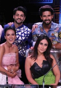 Ravi Dubey and Nia Sharma promote Jamai 2.0 on Dance India Dance 7