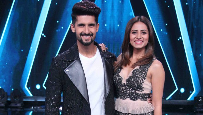 Ravi Dubey with Sargun Mehta on Sa Re Ga Ma Pa Li'l Champs