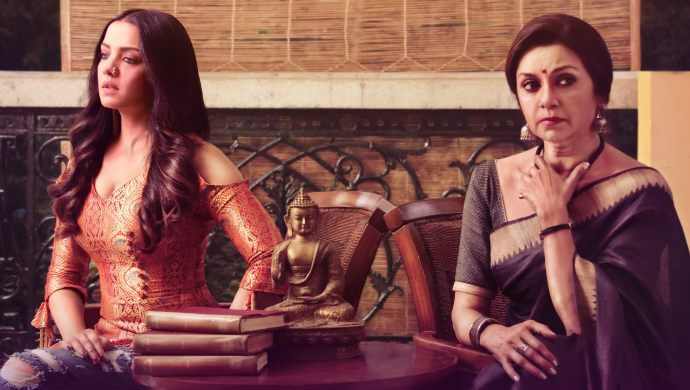 Season's Greetings poster starring Celina Jaitly and Lillette Dubey