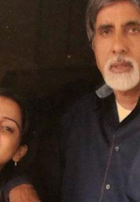 Shraddha Arya with Amitabh Bachchan