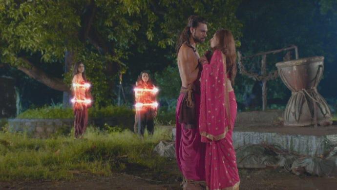 Still from Aghori with Darvya and Adhvik