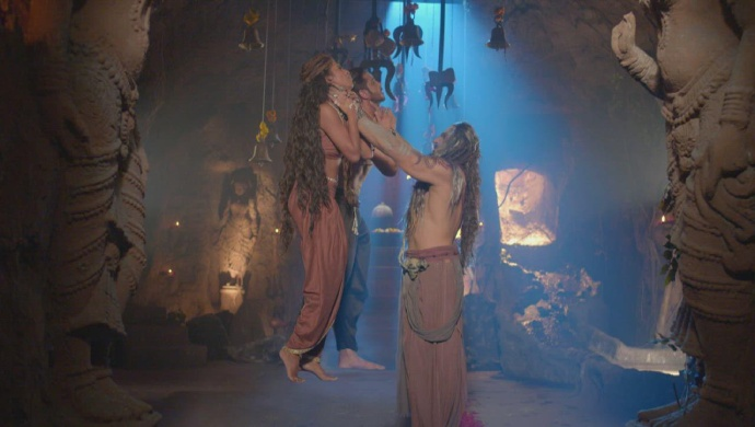 Still from Aghori with Rudranath And Asmi