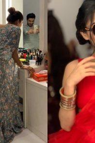 Vin Rana, Shikha Singh, Ashlesha Savant on Kumkum Bhagya sets