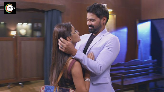 Abhi-Pragya in a still from Kumkum Bhagya episode