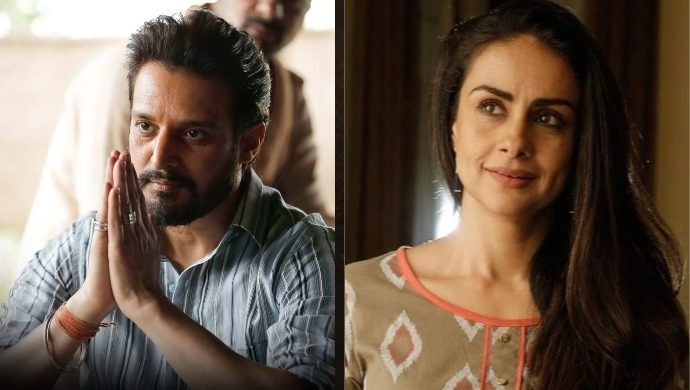 Jimmy Shergill and Gul Panag in Rangbaaz Season 2