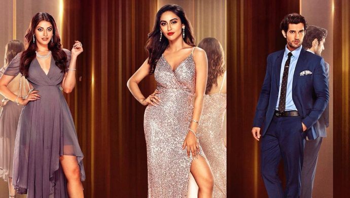 Krystle D'souza, Anushka Ranjan and Aditya Seal in a Fittrat still