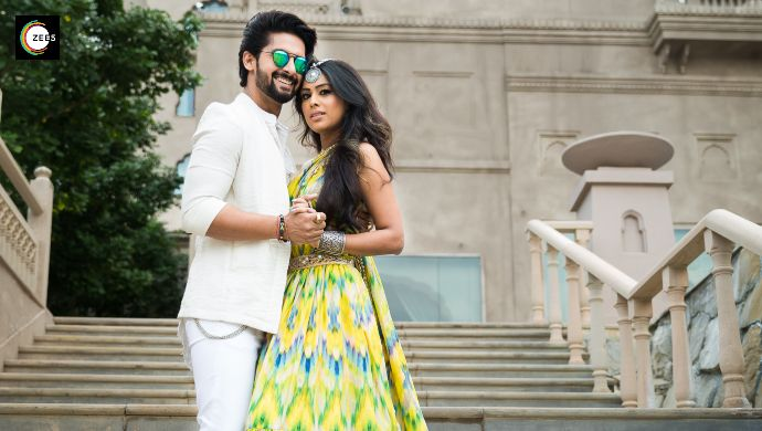 Nia Sharma and Ravi Dubey shoot for Rubaru