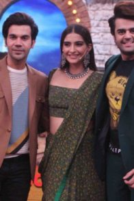 Rajkummar Rao, Sonam Kapoor on Movie Masti with Maniesh Paul sets