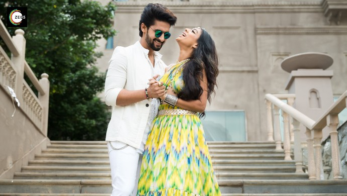 Ravi Dubey and Nia Sharma shoot for Rubaru song