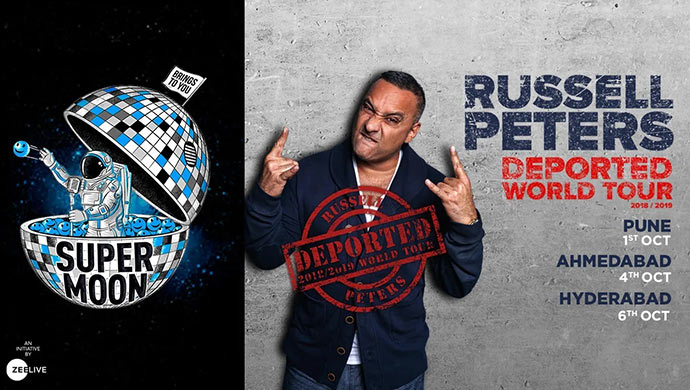 Russell Peters India tour