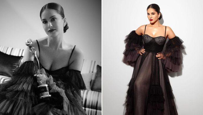 Sunny Leone wins at Gold Awards 2019 (1)