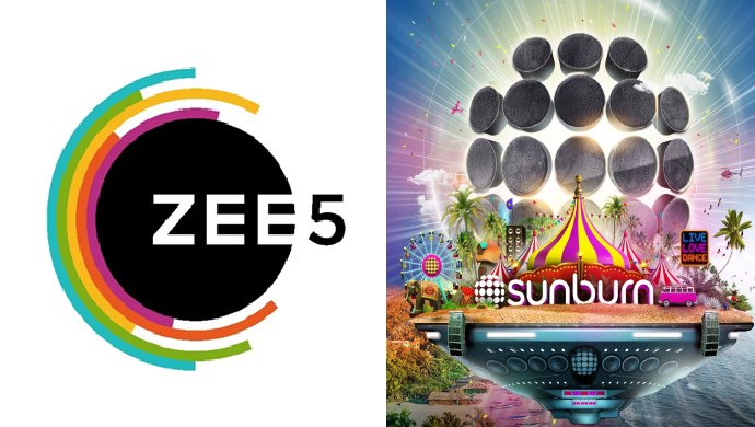 ZEE5 and Sunburn partnership