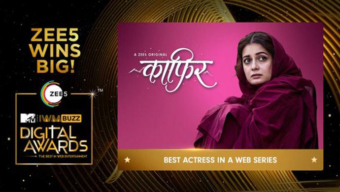 Dia Mirza wins best actress for Kaafir