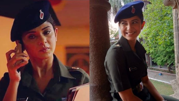 Jennifer Winget as a military lawyer in Code M series
