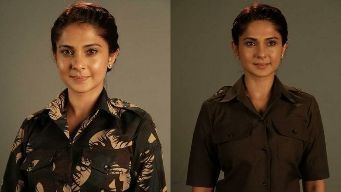 Jennifer Winget in Code M as a military lawyer