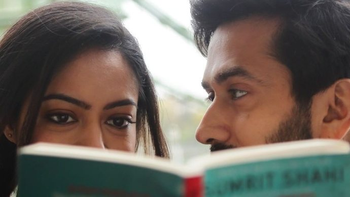 Nakuul Mehta and Anya Singh in Never Kiss Your Best Friend